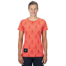 Cube Organic T-Shirt Fichtelmountains Women, orange